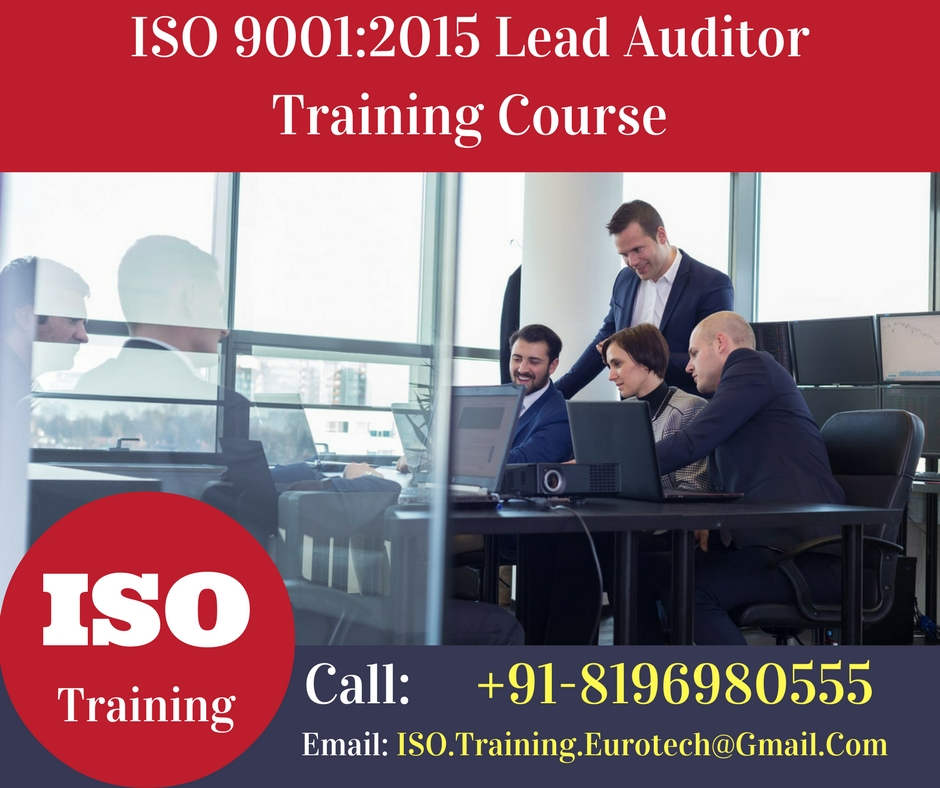 Iso 9001 Lead Auditor Training Course Material